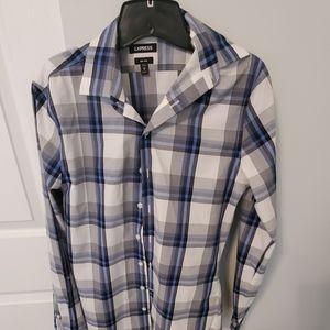 Size XS Express slim fit button down shirt